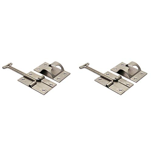 TCH Hardware 2 Pack Stainless Steel 4