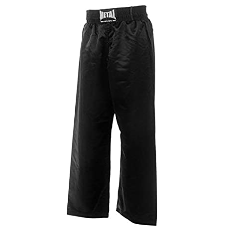 METAL BOXE - Pantalon Noir Sports De Combat