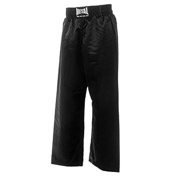 3beb746562a01 Metal Boxe - Pantalon Full Contact Enfant (Noir, 150): Amazon.fr ...