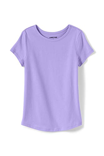 Lands' End Girls Solid Knit Tee