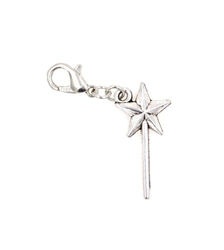 It's All About...You! Fairy Wand Clip on Charm Perfect for Necklaces and Bracelets 97O]()