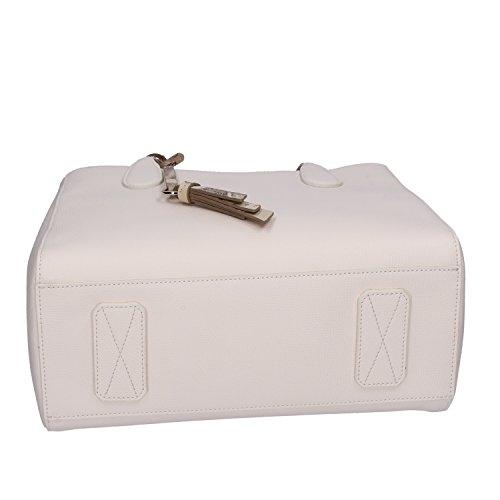 1 Bianco a mano ALVIERO MARTINI Pelle piccola Borsa Tracolla Donna CLASSE 5wPvH