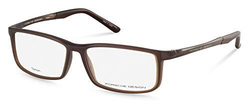 Porsche Designs Eyeglasses P8228 B Brown Demo 56 14 ()