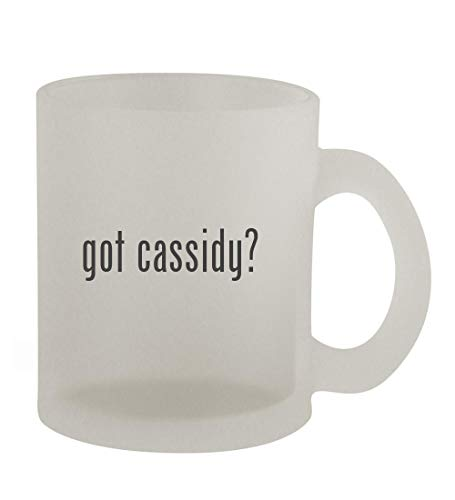 got cassidy? - 10oz Frosted Coffee Mug Cup, Frosted (Shaun Cassidy Doll)