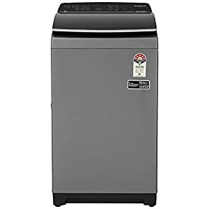 Whirlpool 7.5 Kg 5 Star Fully-Automatic Top Loading Washing Machine (360 BLOOMWASH PRO (540) 7.5, Graphite, Hexa Bloom…