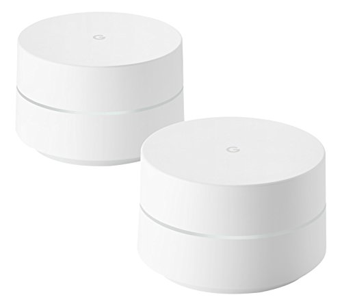 Google Wifi Whole Home System (Pack of 2) –...