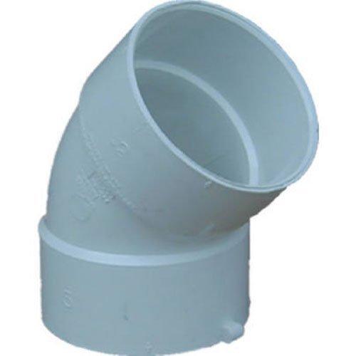 Genova S40640 PVC 45 degrees Elbow (1/8 Bend)-4' 45D S&D ELBOW