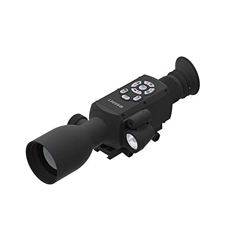WANNEY E50-I Smart Day & Night Digital Night Vision Scope 1080p Video Ballistic Calculator Rangefinder WiFi Take Pictures GPS Temperature Sensor iOS & Android Apps Connect with Phone
