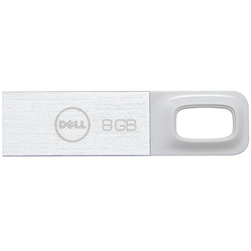 Dell 8 GB USB 2.0 Flash Drive, White