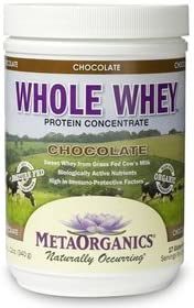 Whole Whey-Chocolate MetaOrganics 340 g Powder