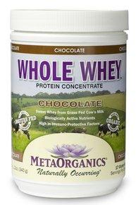 Whole Whey-Chocolate MetaOrganics 340 g Powder