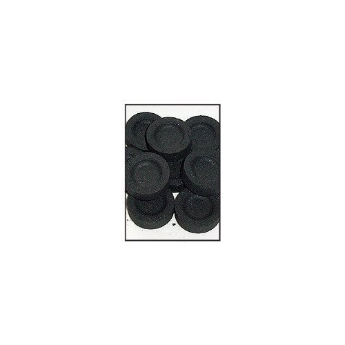 - 3 X Charcoal for Incense: Pack of 10 Rounds (33mm)