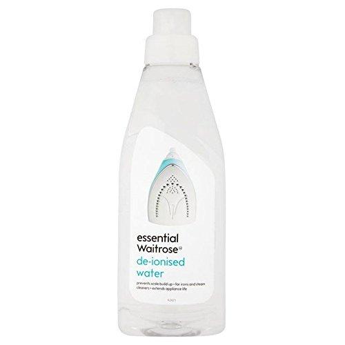 De-Ionised Water essential Waitrose 1L