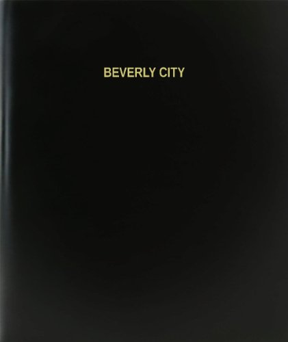 BookFactory® Beverly City Log Book / Journal / Logbook - 120 Page, 8.5