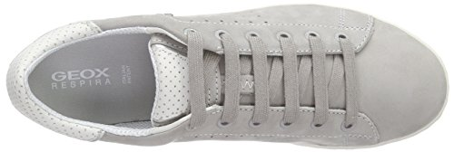 Geox D Jaysen A - Zapatillas Para Mujer Gris - Grau (LT GREYC1010)