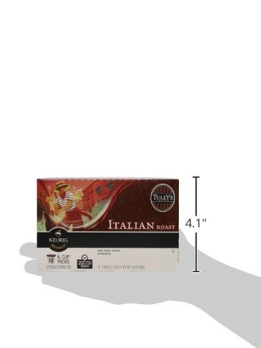 Tully's Coffee, Italian Roast, Single-Serve Keurig K-Cup Pods, Dark Roast Coffee, 72 Count (3 Boxes of 24 Pods) by Keurig (Image #8)