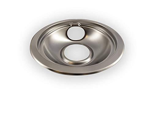 Vastu Aftermarket Replacement Drip Pans for Whirlpool Range - 1 Large 8