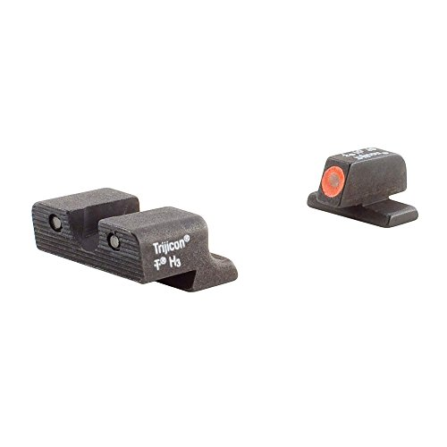 Trijicon SP101O Springfield XD-Series HD Night Sight Set, Orange Front ()