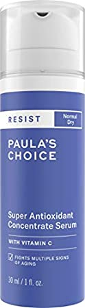 Paula's Choice Resist Sérum Antioxidante Facial - Suero Antiarrugas Reduce Manchas, Hidrata y Aclarar la Piel - con Vitamina C y E - Pieles Normales a Secas - 30 ml