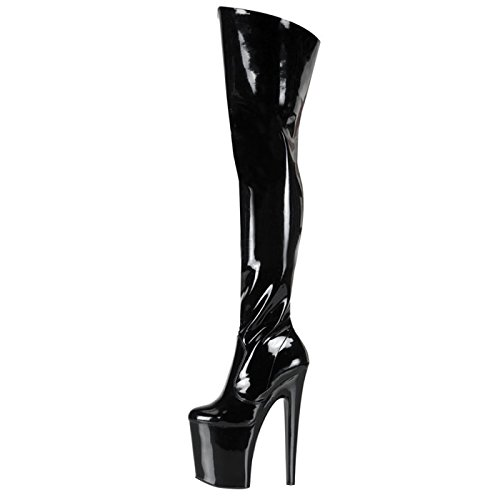 Pleaser - Sexier Than Ever Plateau Overkneestiefel XTREME-3010