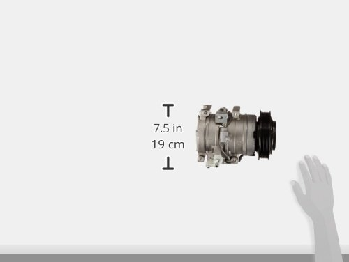 Denso 471-1342 New Compressor with Clutch