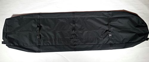 Gecobi Step and Repeat LA Large, Black, Heavy Cloth Bag for Equipment,Sports or Camping Equipment, Carpet, Banners, Trade Show accessories