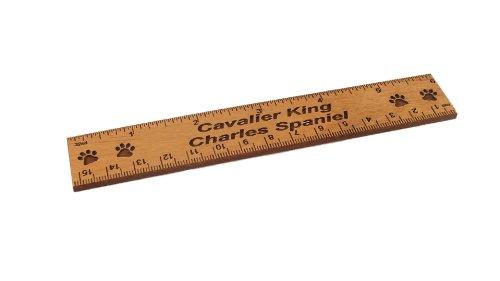 - Cavalier King Charles Spaniel 6 Inch Alder Wood Ruler