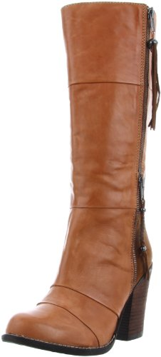 Cognac Kelsi Women's Boot Hazey Brooklyn High Dagger Knee gR1SUg0c