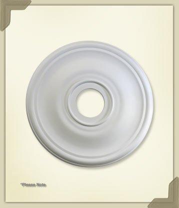 (Quorum 7-2830-8, Ceiling Medallion in Studio White, 30