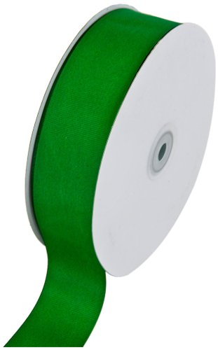 Creative Ideas Solid Grosgrain Ribbon, 1-1/2-Inch by 50-Yard, Emerald Green