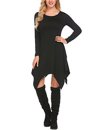 Asymmetrical Mini Dress - 1