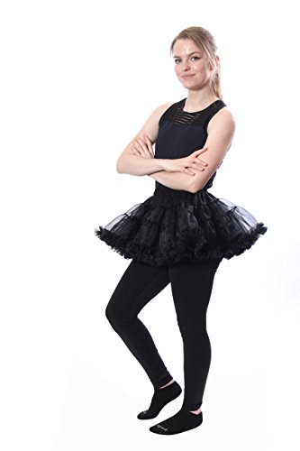 BellaSous Luxury Adult Woman Very Short Sexy Tutu Skirt for Valentines, Halloween, Costume Wear, or Dress up -