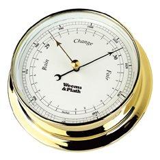 Endurance 085 Clock - WEEMS & PLATH Endurance Collection 085 Barometer (Brass)