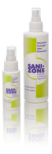 Sani-Zone Odor Eliminator/Air Spray, 2 Oz Spray (Spray Sani)