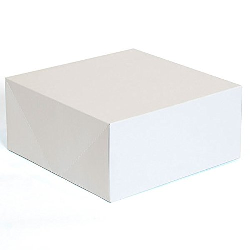 Lot of 50 New or Retail White finish Gift box measures 15''x7''x7'' by Gift box
