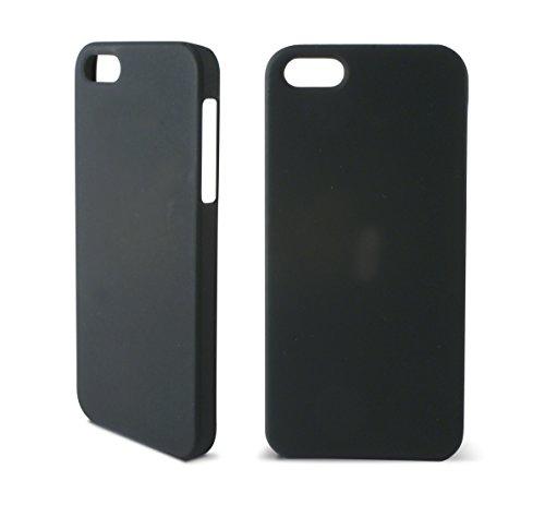 KSIX B0914CAR03 Hard Cover für Apple iPhone 5 schwarz