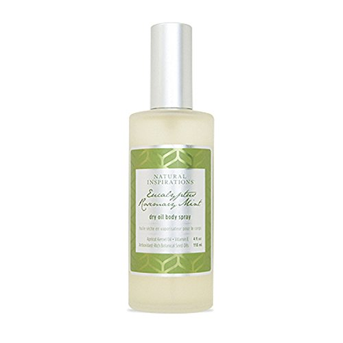 - Natural Inspirations Eucalyptus Rosemary Mint Dry Oil Body Spray