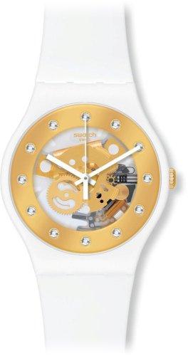 Swatch Sunray Glam Unisex Watch - White