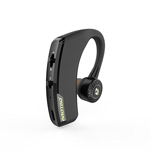 aROTaO Bluetooth Headset, Wireless Bluetooth Earpieces Hands Free Earset...