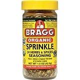 Bragg Organic Sprinkle Seasoning 1.50 Ounces (2 Bottles, 3 ounces total)