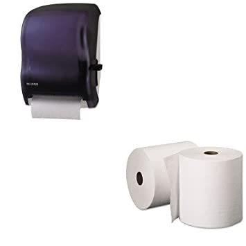 kitkim50606sjmt1100tbk – Value Kit – Kimberly-Clark 50606 papel en rollo, duro de Kleenex
