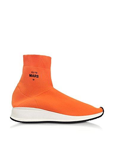 Joshua Sanders Damen 10421flytomars Sneakers Alte In Poliammide Arancione