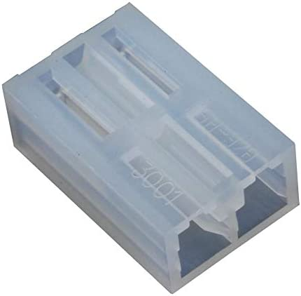 5.08 mm KK 508 3001 Series Receptacle 10-01-1024 2 Contacts Wire-To-Board Connector Crimp Pack of 100 1 Rows 10-01-1024