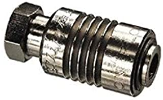 product image for Clippard SLV-3 2-Position 3-Way Sleeve Valve, 10-32 Female Inlet/Male Outlet