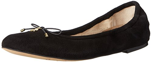 Suede Edelman Sam Womens Black Felicia Closed qaggvxwBFC