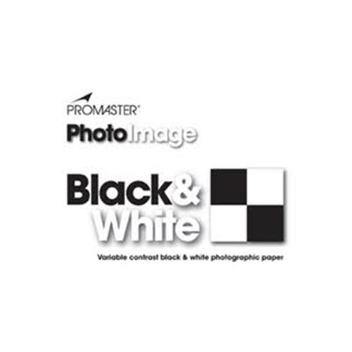 PhotoImage B&W VC Photo Paper 8x10, 100 Sheets, Glossy by ProMaster