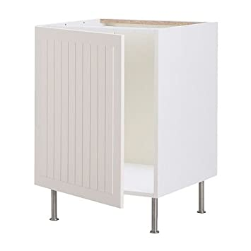IKEA FAKTUM - Base cabinet for sink, Stat off-white - 50 cm: Amazon on