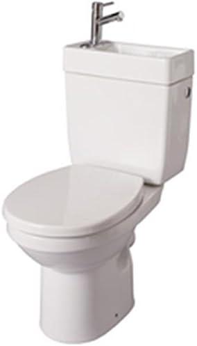 Alterna – Pack inodoro con lavamanos integrado Doppio 2 Color ...