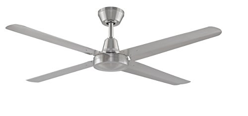 Fanimation Ascension - 56 inch - Brushed Nickel with Brushed Nickel Blades and Wall Control - FP6717BN