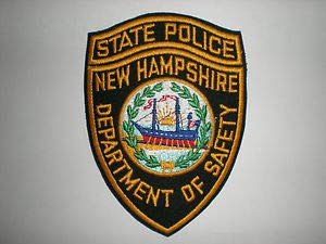 (New Hampshire State Police Department of Safety Patch by HighQ Store )